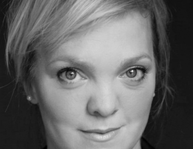 Madeleine Shaw Black and White Headshot